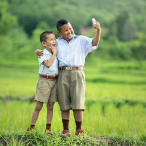 AI Smartphone selfies Behavior Imaging